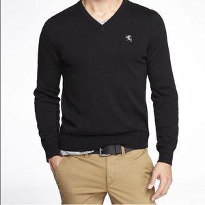 Men's Express Black V-neck sweater